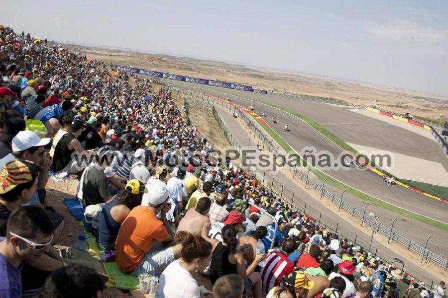 Circuito Alcañiz : Pelouse gp aragon motogp españa